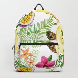 Fruits and Flowers Backpack