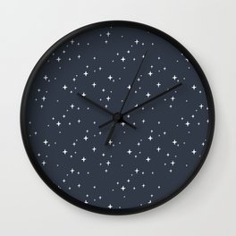 Good night patterns Wall Clock