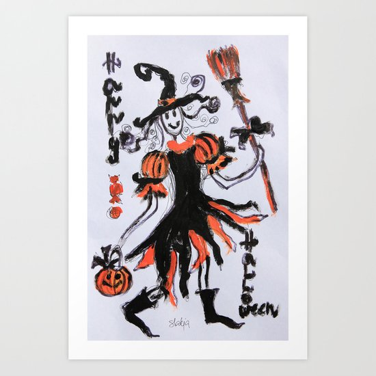 Happy Halloween Art Print