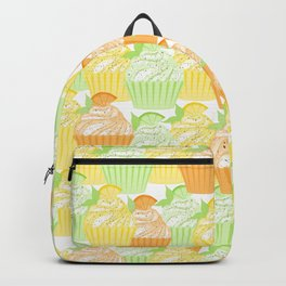 Cupcake Collage Backpack