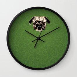 Pug-Life 4 Wall Clock