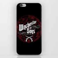 winchester iPhone & iPod Skins featuring Winchester & Sons by Manny Peters Art & Design