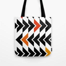 Arrows Graphic Art Design Tote Bag