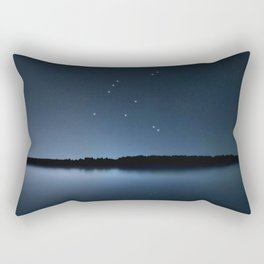 Aquila star constellation, Night sky, Cluster of stars, Deep space, Eagle constellation Rectangular Pillow