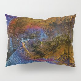 Abstract texture of hot and cold Pillow Sham