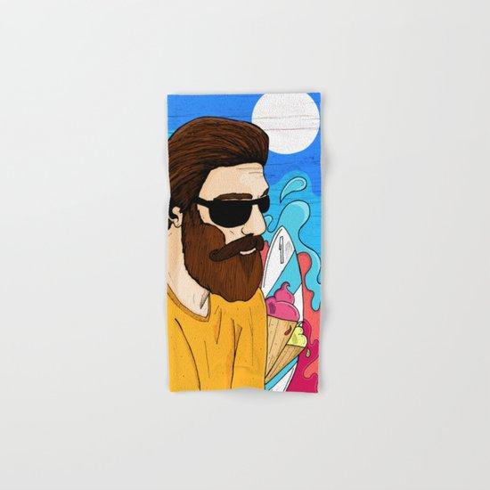 Summer Beard Hand & Bath Towel