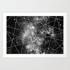 Fly Up to the Heavens (bnw) Art Print