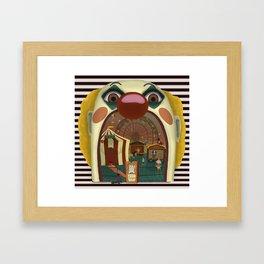 Creepy Circus Framed Art Print