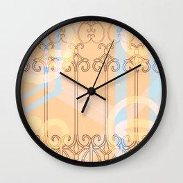 Celestial Chains Wall Clock
