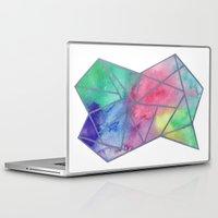 tie dye Laptop & iPad Skins featuring Tie dye by Bridget Davidson