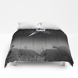 Hollow Knight in the Abyss Comforters