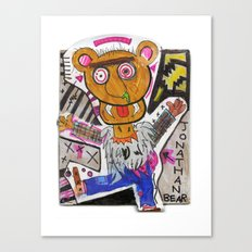 Jonathan Bear Canvas Print