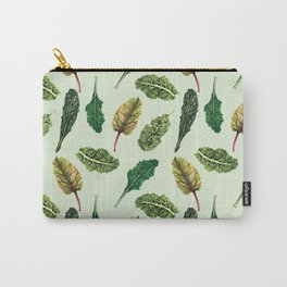 Go Green - Leafy Green Pattern Carry-All Pouch