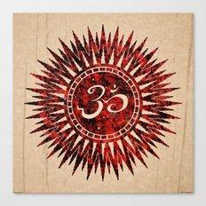 khórinom redstone mandala Canvas Print