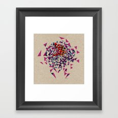 - absolutely washed out - Framed Art Print