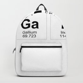 Gains Periodic Table Backpack