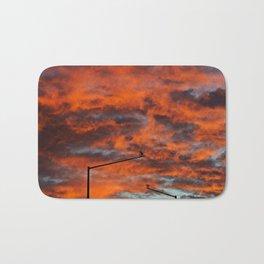 Sunset Surveillance Bath Mat