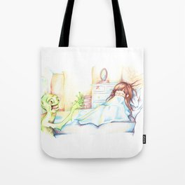 """Listen, I Just Want To Talk"" Tote Bag"