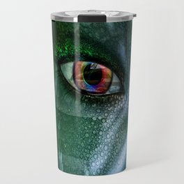 In The Eye Of A Mermaid Travel Mug