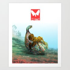 Moth Two Art Print