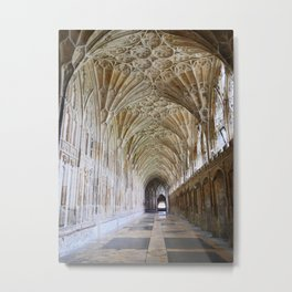 Magnificent Church Cloister | Gloucester Cathedral | England | Fine art travel photography Metal Print