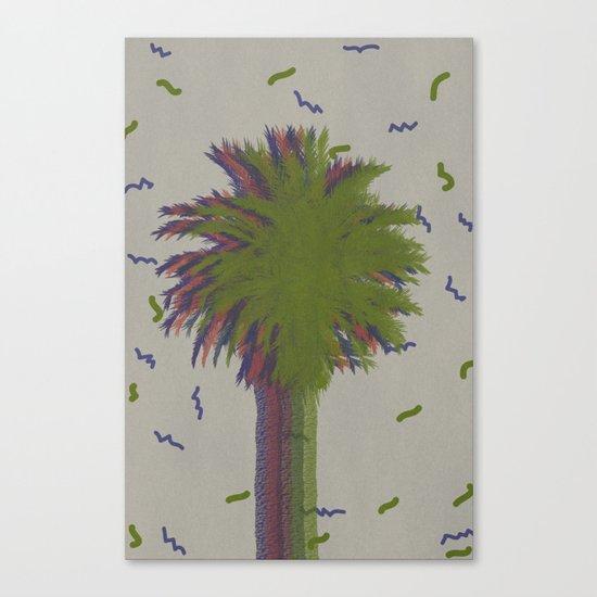 Palm retro Canvas Print