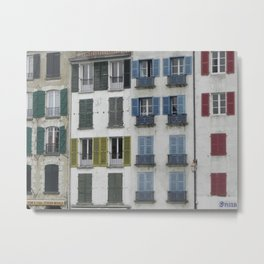 Colorful windows, Baiona Metal Print