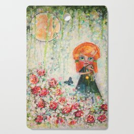 The Secret Garden Cutting Board