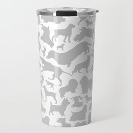 Dog a background Travel Mug
