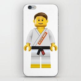 Jiu jitsu maniac iPhone Skin
