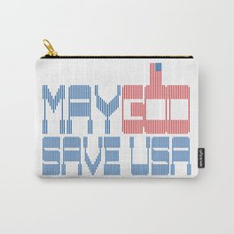 May God save USA Carry-All Pouch