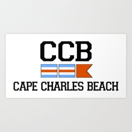 Cape Charles - Virginia. Art Print