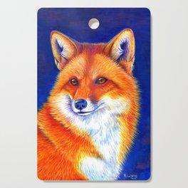 Colorful Red Fox Portrait Cutting Board
