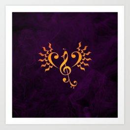Phoenix Song Art Print