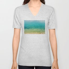 Mediterranean Sea, Italy, Photo Unisex V-Neck