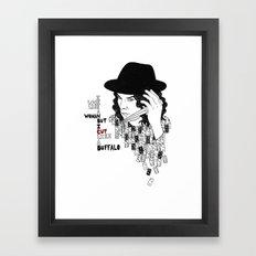Jack White Cuts Like a Buffalo Framed Art Print