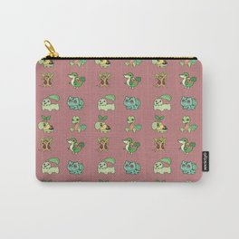 Grass Starters Pattern Carry-All Pouch