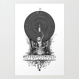 Clockworks Light Art Print