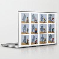 zodiac Laptop & iPad Skins featuring Zodiac by Anastassia Elias