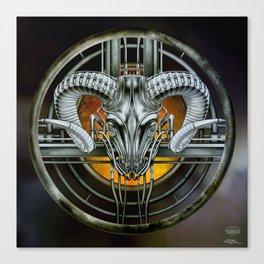 """Astrological Mechanism - Aries"" Canvas Print"