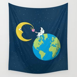 Talk to the Moon Wall Tapestry