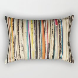 Record Collection Rectangular Pillow