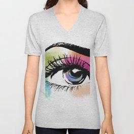 Eyeful Unisex V-Neck