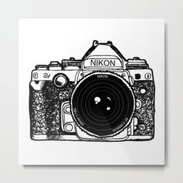 Nikon Camera, Photography, Photo, Canon, Photographer Metal Print
