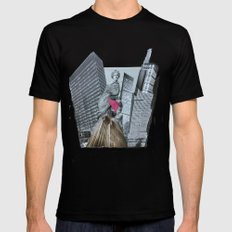 DER SPIEGELSAAL 02 MEDIUM Black Mens Fitted Tee