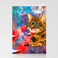 garfield Stationery Cards featuring Goddamn it Garfield  by Zarl