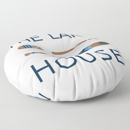 The Lake House Floor Pillow