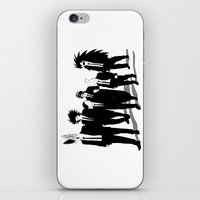 reservoir dogs iPhone & iPod Skins featuring Reservoir Enemies by ddjvigo