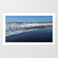 Feet in the Pacific Art Print