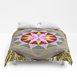 Spiny Star Comforters